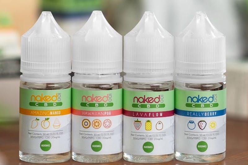 Naked 100 CBD E Juice flavor