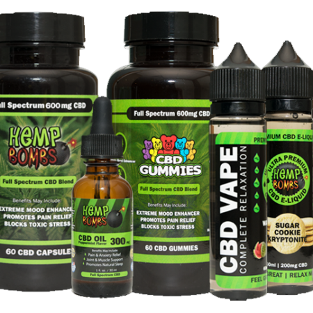 Hemp Bombs CBD