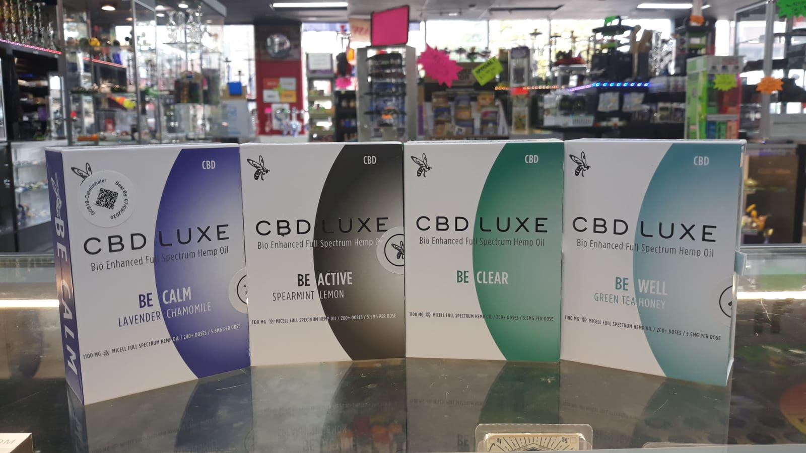 CBD Luxe inhaler in Kansas City