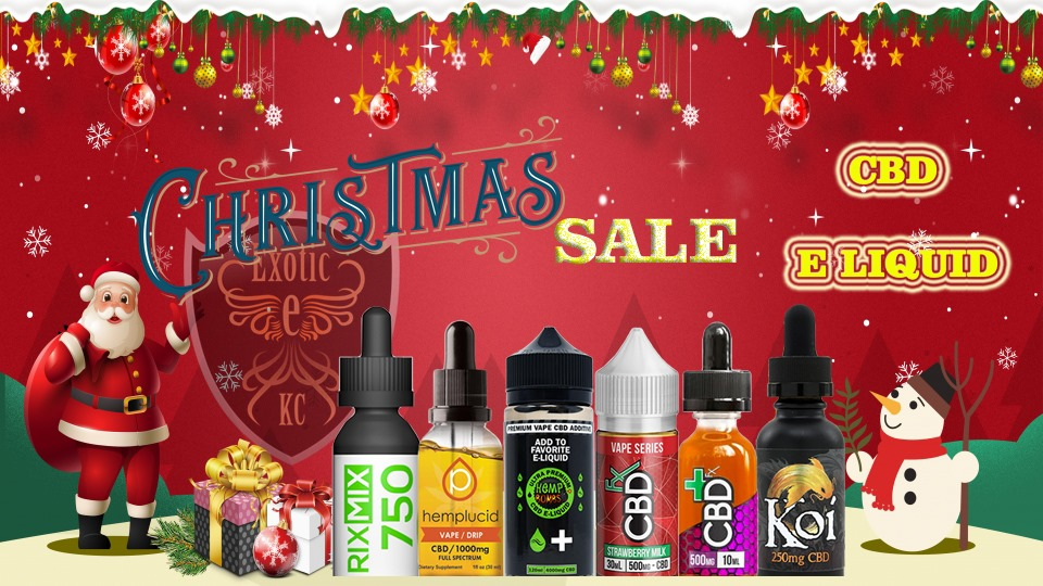 Christmas Sale at exotic KC vape and smoke