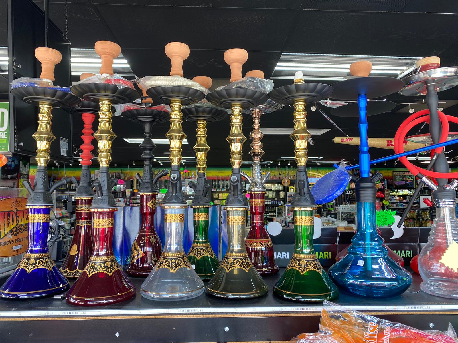 Hookahs and accessories