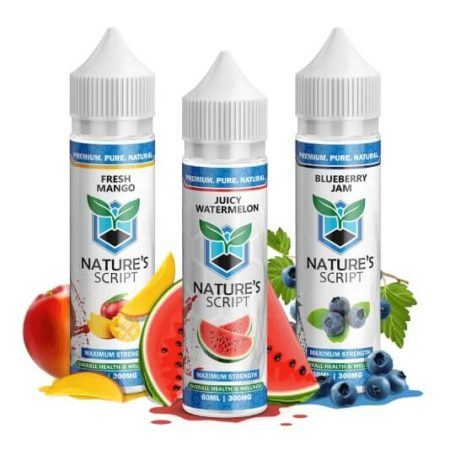 Nature's Script Hemp Extract E-Juice