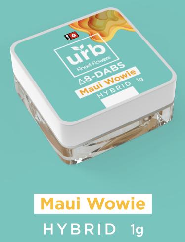 Urb Finest Flowers Delta 8 Dab – Maui Wowie 1 gram